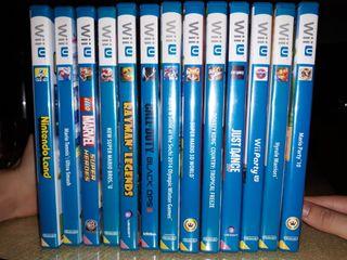 pack de videojuegos wii U