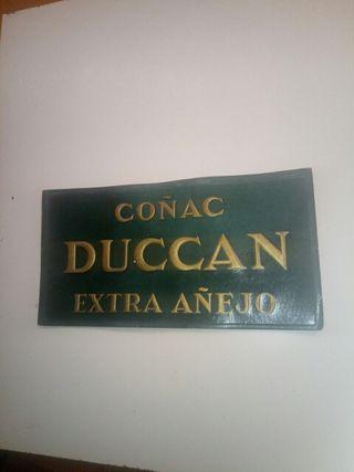 CARTEL ANTIGUO DUCCAN