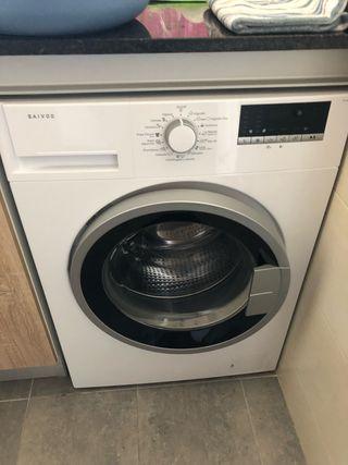 lavadora con un mes de uso solo 4 lavados