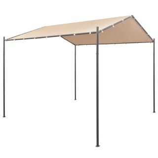 vidaXL Cenador carpa 3x3 m de acero beige 43170