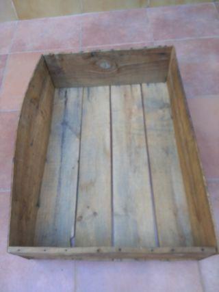Cajón de madera resistente