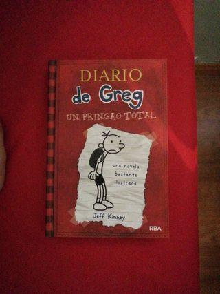 El diario de Greg 1 UN PRINGAO TOTAL