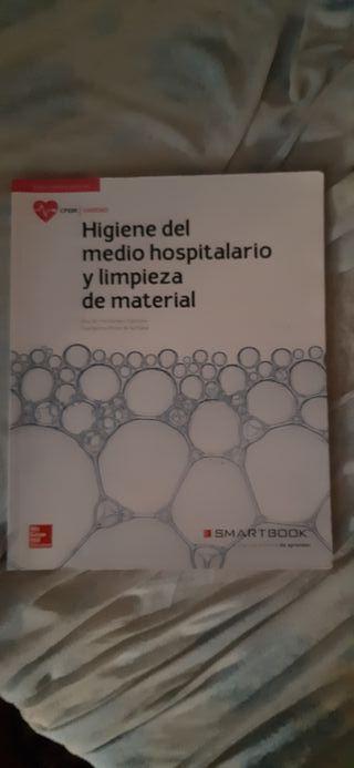 libros de auxiliar de enfermeria de grado medio.