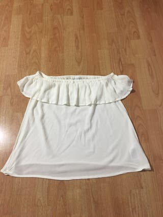 Camiseta cuello barco talla M