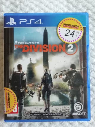 Juego Tom Clancy's The Division 2 PS4