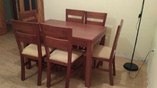 Mesa comedor + 6sillas
