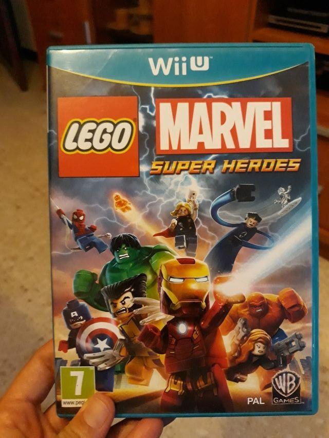 marvel súper heroes lego para wii U