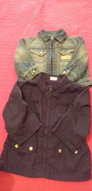 2 chaquetas 9-12 meses