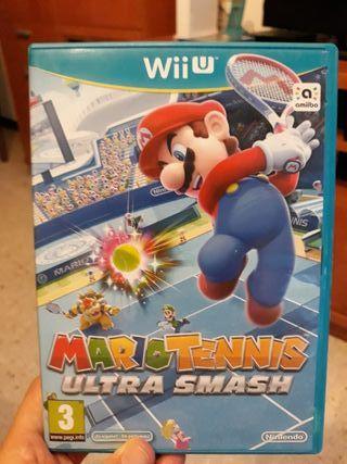 Mario tenis ultra smash para wii U