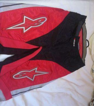 pantalón motocross niño