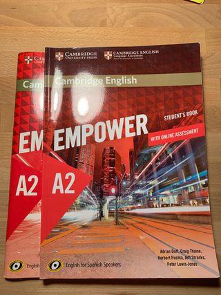 Libro Inglés A2 Cambridge English Empower