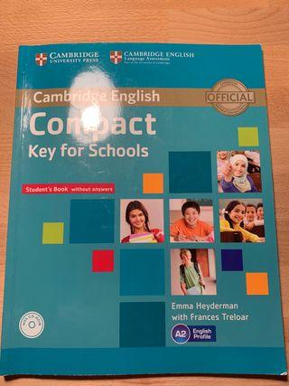 Libro Inglés A2 Cambridge English Compact