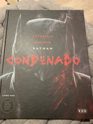 Cómic Batman Condenado Vol 1