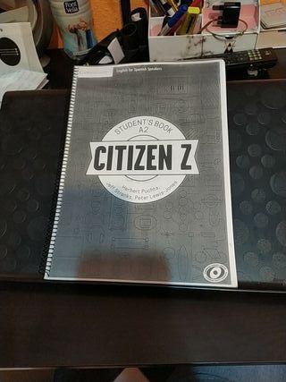 student's book A2 CITIZEN Z