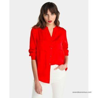 Blusa roja nueva El Corte Inglés