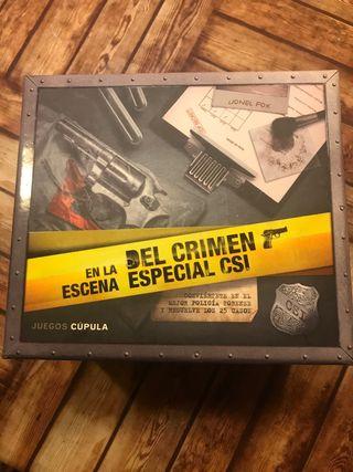 En la escena del crimen especial CSI
