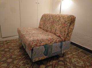 Sofá cama, sillón cama plegable, láminas. Funda