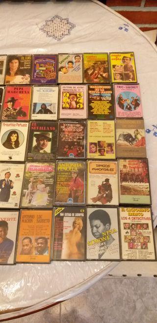 cintas música antigua precintadas
