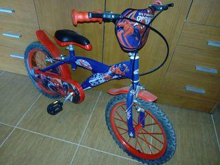 bicicleta de niño...ESTA NUEVA !!
