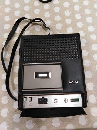 Radio cassette antiguo Philips