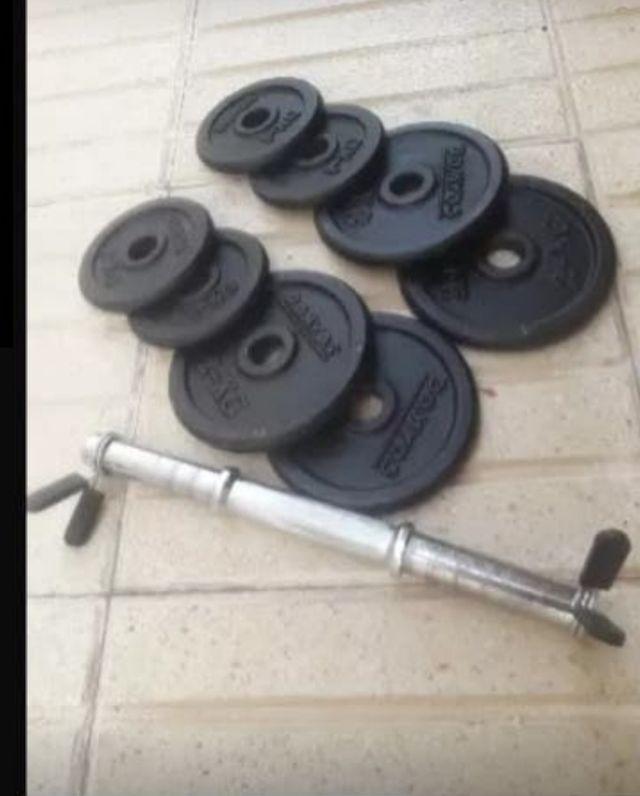 8 pesas para tu ejercicio