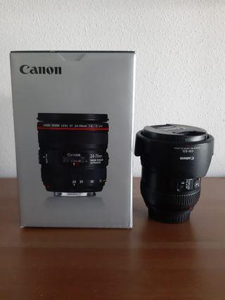 Objetivo Canon 24-70 f/4