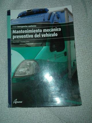 libros grado medio emergencias sanitarias