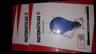 Libro Matemáticas 5