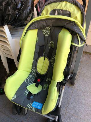 Carrito bebe 3 piezas: capazo, silla y maxicosi