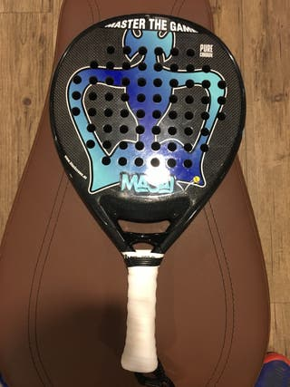 Pala de padel Black Crown Masai