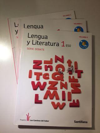 Libro de lengua y literatura 1ESO