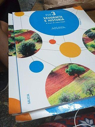 libro de geografía e historia