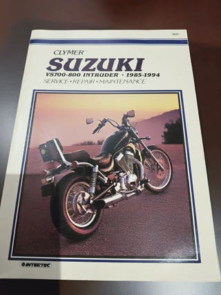 manual SUZUKI INTRUDER VS700-800