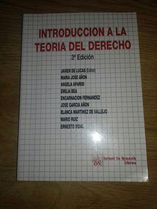 INTRODUCCION A LA TEORIA DEL DERECHO 3a EDICIÓN
