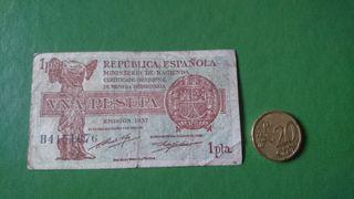 BILLETE 1 PESETA 1937