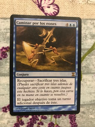 """Carta Magic """"Caminar por los eones"""""""