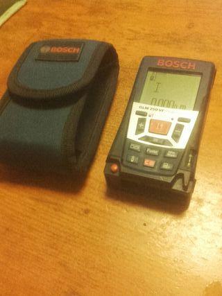 Medidor Laser Bosch GLM 250 VF Profesional