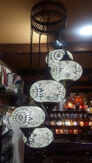 Lámpara turca de techo 3 4