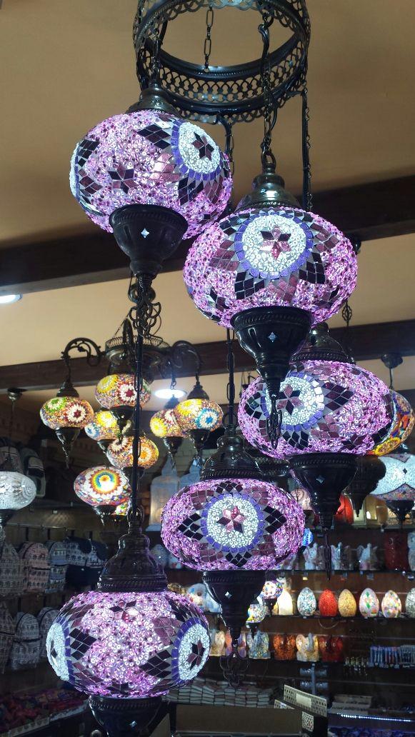 Lámpara turca de techo 3 2