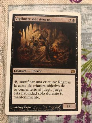 "Carta Magic ""Vigilante del averno"""