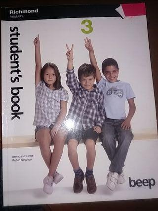 libro Student's BOOK 3 primaria RICHMOND BEEP