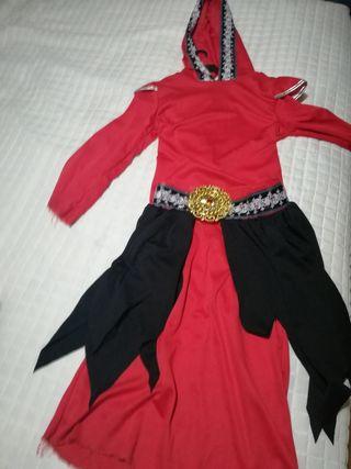 Disfraz halloween de demonio para niñ@