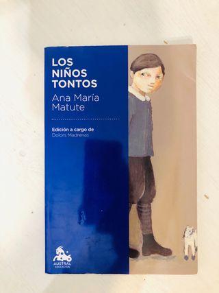 Libro LOS NIÑOS TONTOS