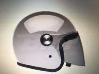 Oferta cascos bell jet tipo riot blanco