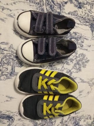 Zapatillas niño talla 23