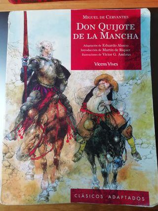 1º Bach: Don Quijote de la Mancha. Ed Vicens Vives