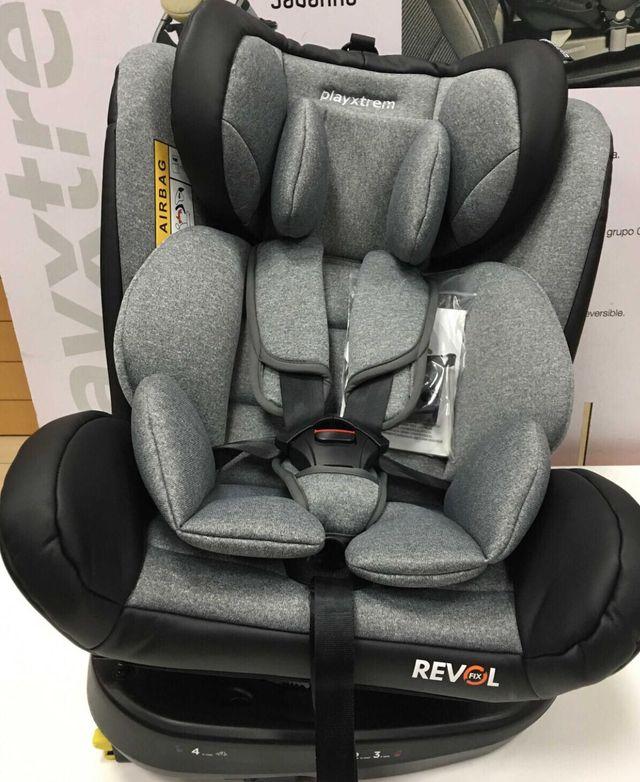 Silla coche Gr.0+1/2/3 REVOLFIX ISOFIX Nuevo