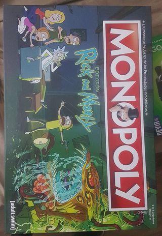 juego de mesa Rick & Morty Monopoly