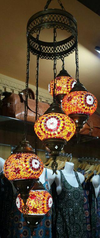 Lámpara turca de techo 2 2