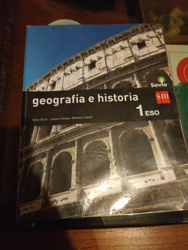 Libros de texto 1º de la ESO